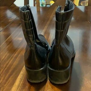 galo Shoes - Black leather boots